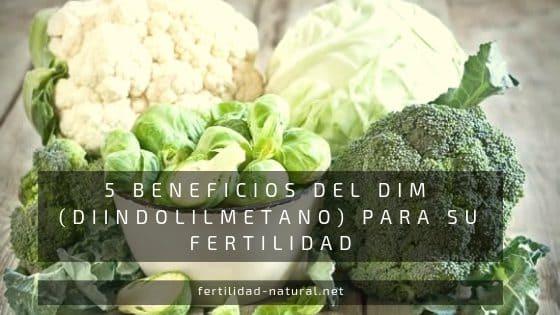 beneficios DIM crucíferas fertilidad