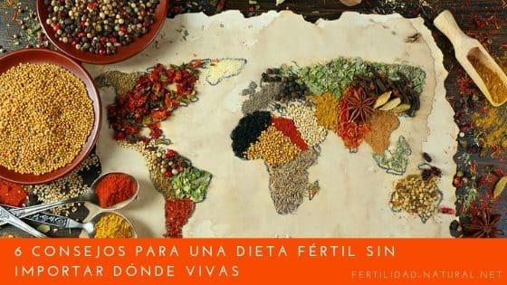 dieta fertil por el mundo