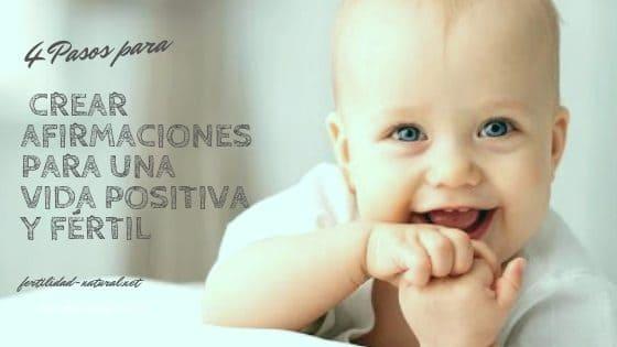 afirmaciones positivas para la fertilidad