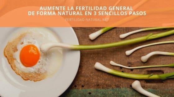 fertilidad natural en 3 pasos