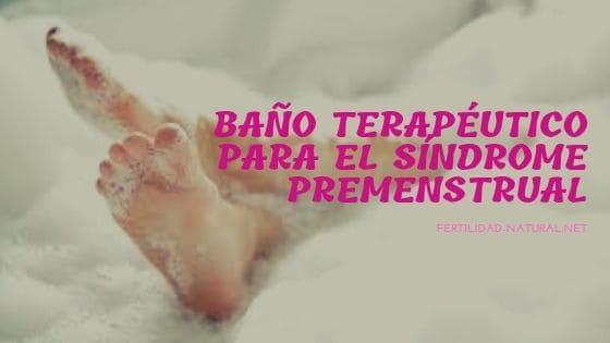 baño premenstrual